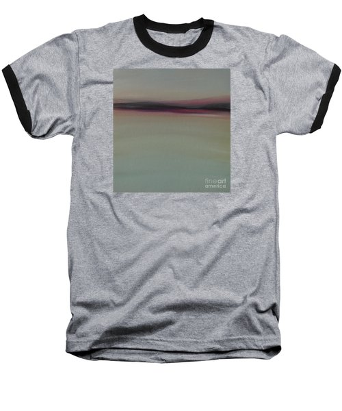 Mountains At Dawn Baseball T-Shirt