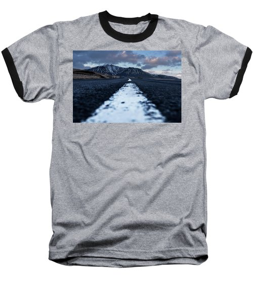 Mountains In Iceland Baseball T-Shirt