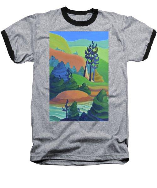 Hills In Spring Baseball T-Shirt