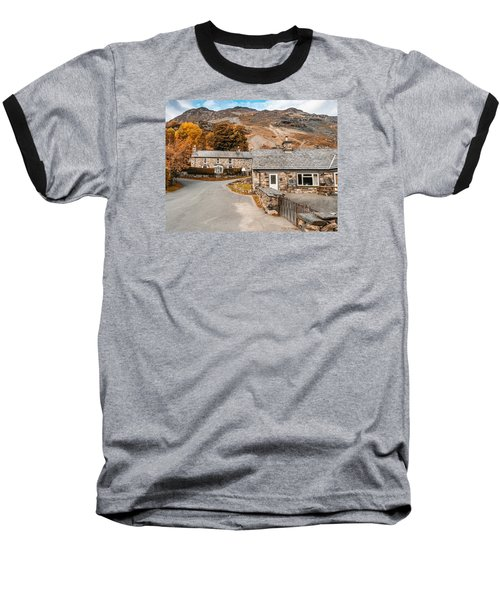 Mountains In The Back Yard Baseball T-Shirt
