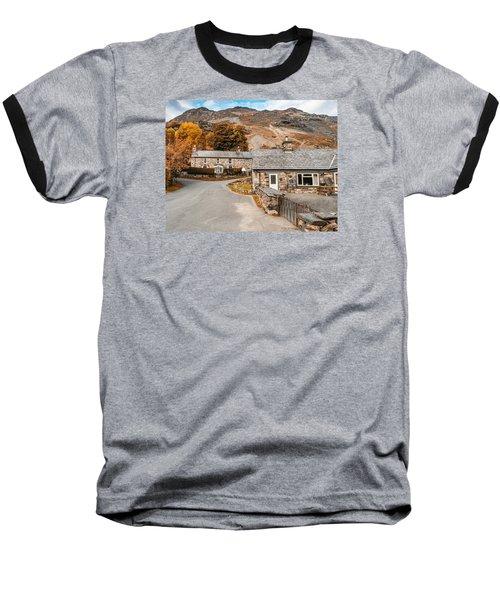 Mountains In The Back Yard Baseball T-Shirt