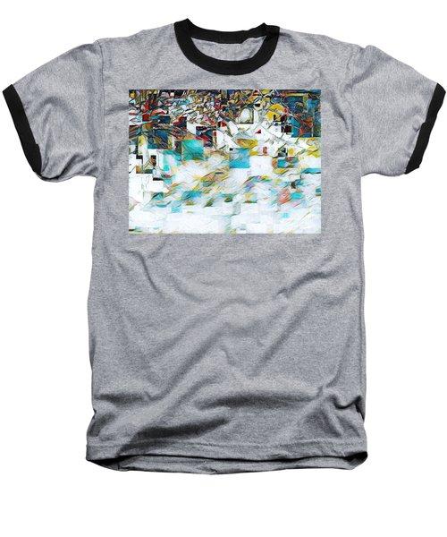 Snowy Mountains Baseball T-Shirt