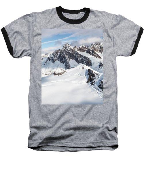 Mountains Of Southeast Alaska Baseball T-Shirt