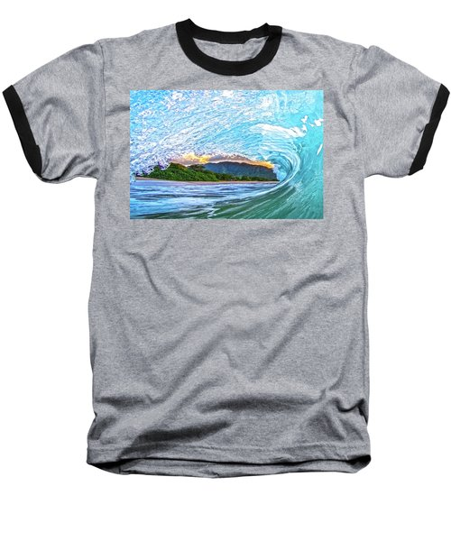 Mountains To The Sea Baseball T-Shirt by James Roemmling