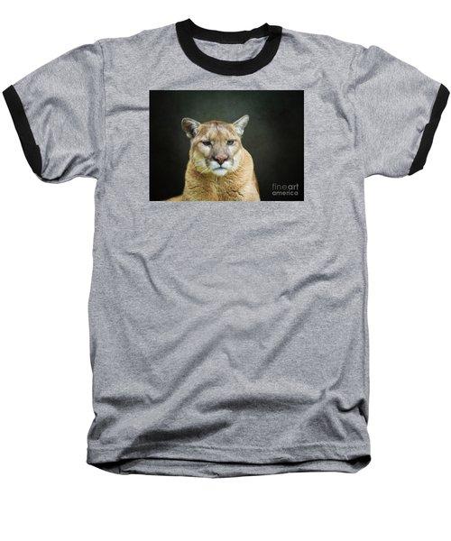 Mountian Lion Baseball T-Shirt