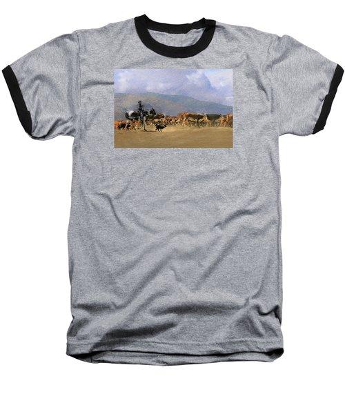 Move Em Out Baseball T-Shirt