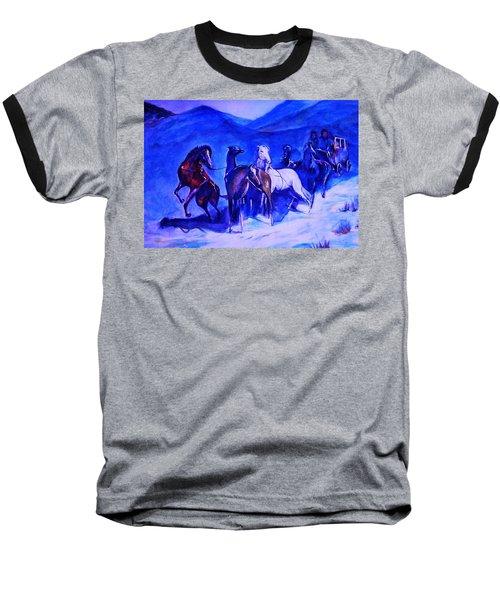Move Over. Baseball T-Shirt by Khalid Saeed