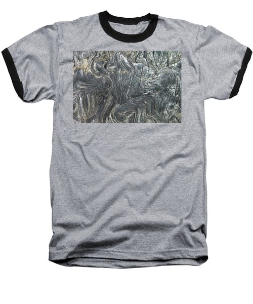 Movement In The Earth Baseball T-Shirt