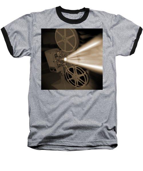 Movie Projector  Baseball T-Shirt