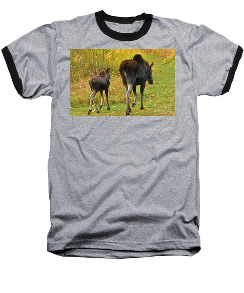 Baseball T-Shirt featuring the photograph Movin On Down The Road by Sam Rosen