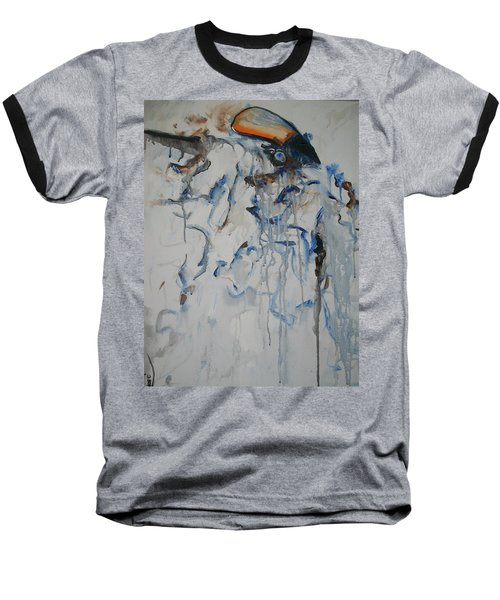 Baseball T-Shirt featuring the painting Moving Forward by Raymond Doward