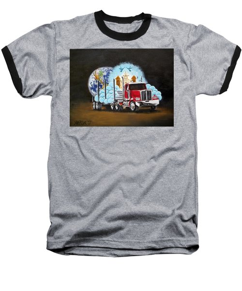 Moving Heaven And Earth  Baseball T-Shirt