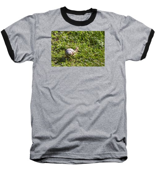 Baseball T-Shirt featuring the photograph Moving by Leif Sohlman