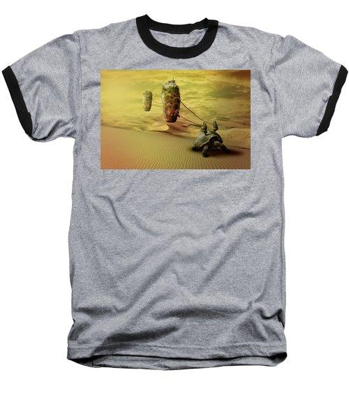 Moving On Baseball T-Shirt by Nathan Wright