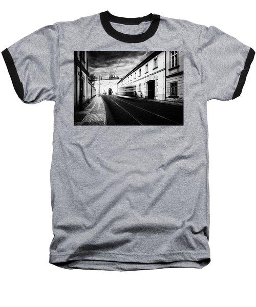 Street Tram Baseball T-Shirt