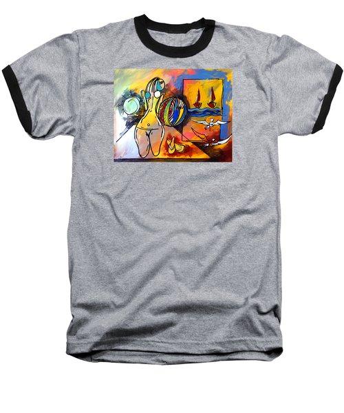 Mr Ameeba 6 Baseball T-Shirt