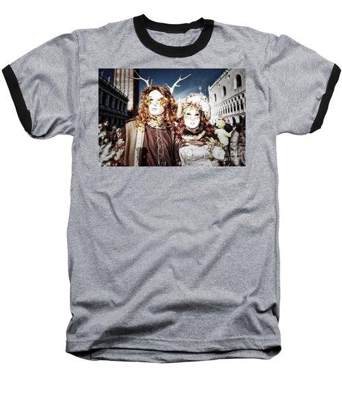 Mr And Mrs Deer Bypass Baseball T-Shirt