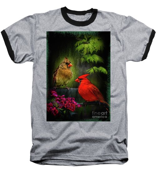 Mr. And Mrs. Baseball T-Shirt