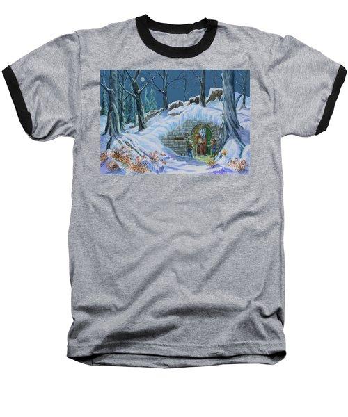 Mr Badger Baseball T-Shirt