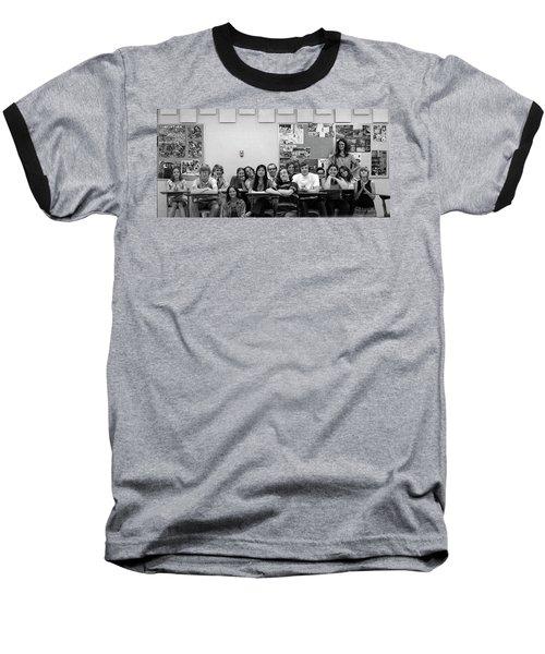 Mr Clay's Ap English Class - Cropped Baseball T-Shirt