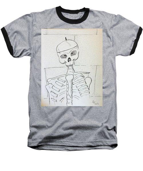 Mr Cooper's Aide Baseball T-Shirt by Loretta Nash