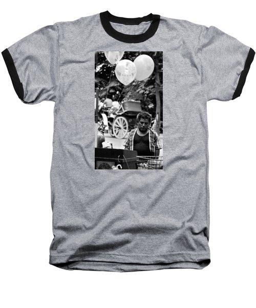 Mr. Fiesta Baseball T-Shirt by David Gilbert
