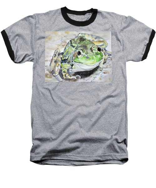 Mr Frog  Baseball T-Shirt