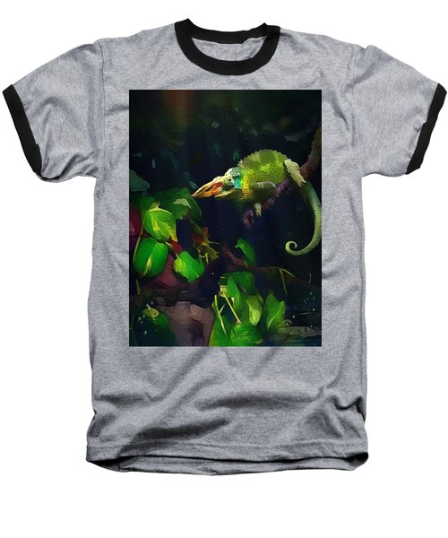 Mr. H.c. Chameleon Esquire Baseball T-Shirt