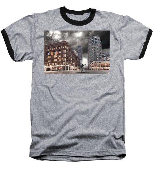 Baseball T-Shirt featuring the photograph Mr. Jason Hall 2015 by Nicholas  Grunas