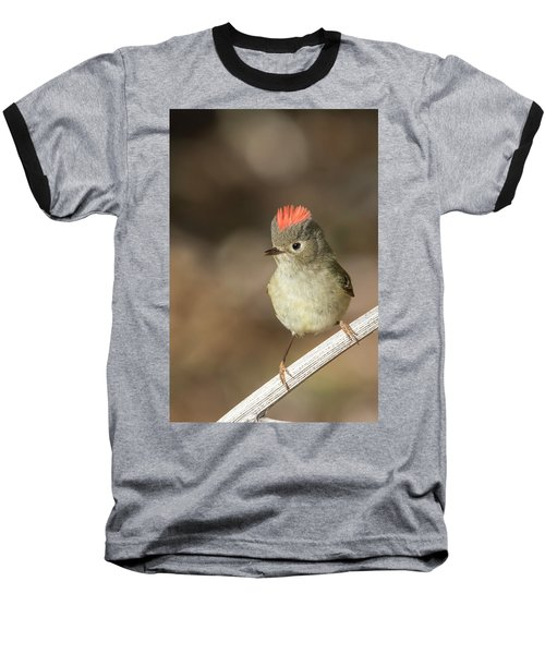 Baseball T-Shirt featuring the photograph Mr Kinglet  by Mircea Costina Photography