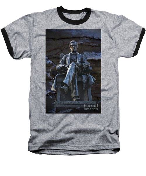 Mr. Lincoln Baseball T-Shirt