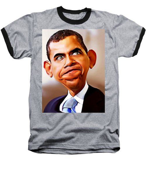 Mr. President Baseball T-Shirt