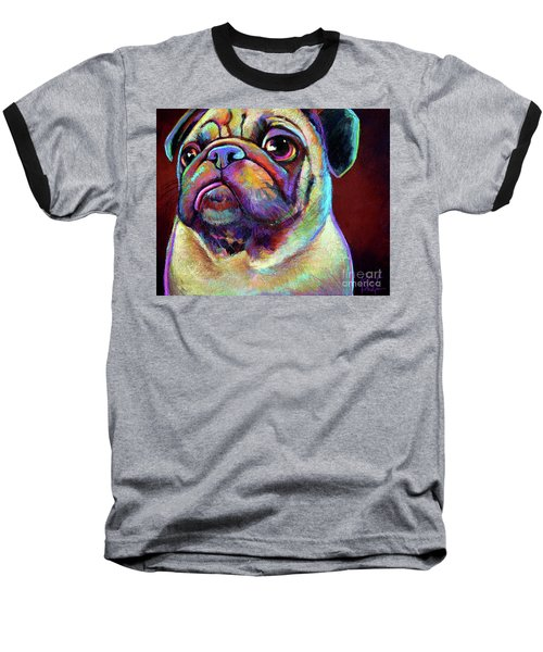 Mr. Pugnacious  Baseball T-Shirt