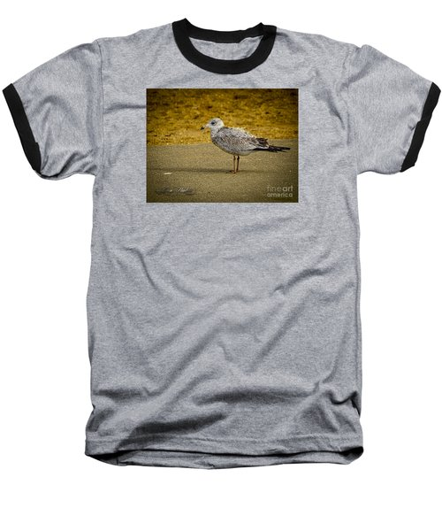 Baseball T-Shirt featuring the photograph Mr. Seagull by Melissa Messick