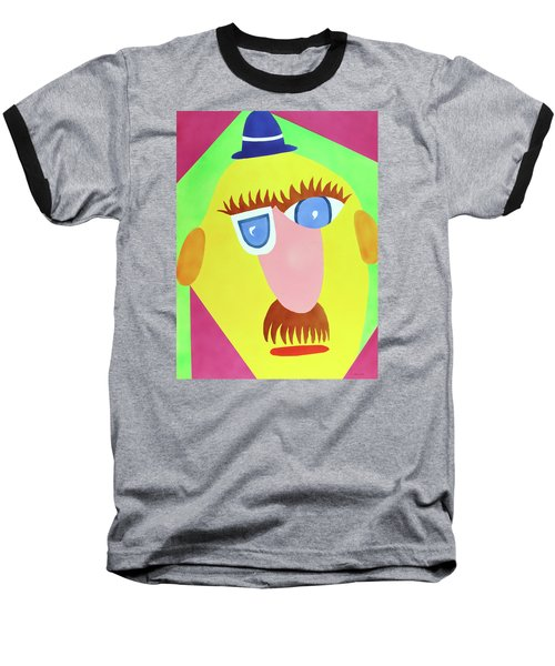 Baseball T-Shirt featuring the painting Mr. Strangefellow by Thomas Blood
