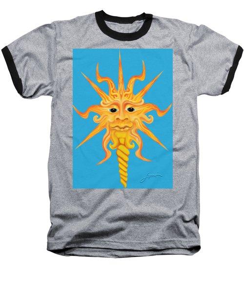 Mr. Sunface Baseball T-Shirt