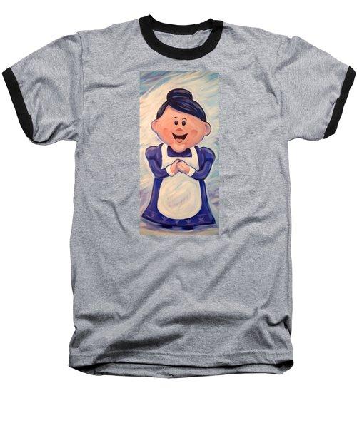 Mrs Claus Baseball T-Shirt