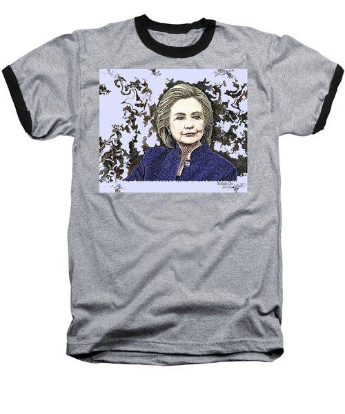 Mrs Hillary Clinton Baseball T-Shirt