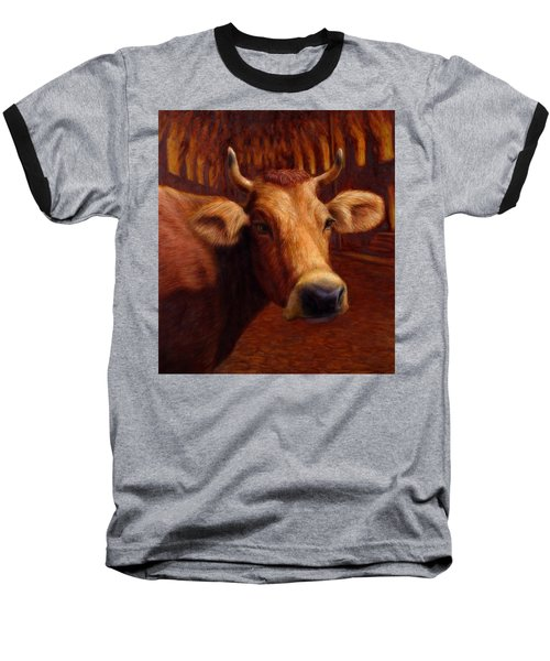 Mrs. O'leary's Cow Baseball T-Shirt