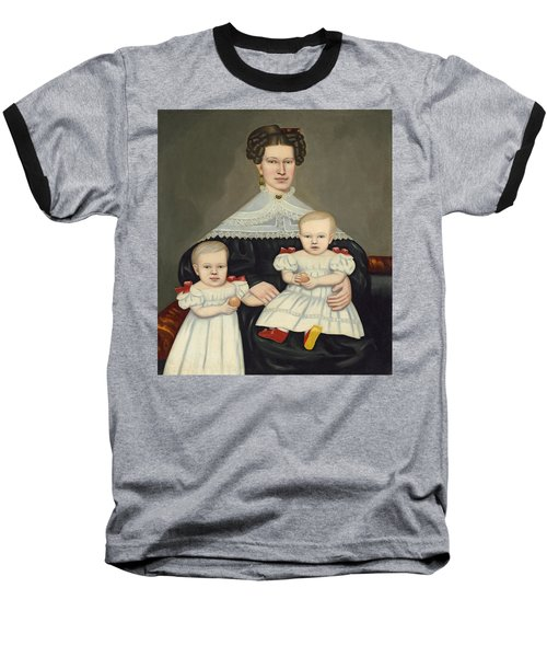 Mrs Paul Smith Palmer And Her Twins Baseball T-Shirt