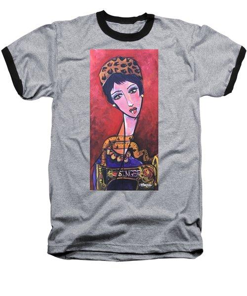 Ms. Bimba Fashionable Seamstress Baseball T-Shirt