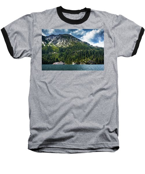 M.s. Dixie II, Lake Tahoe, Ca Baseball T-Shirt