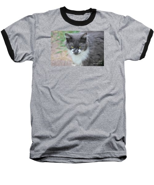 Ms. Mustache 2 Baseball T-Shirt