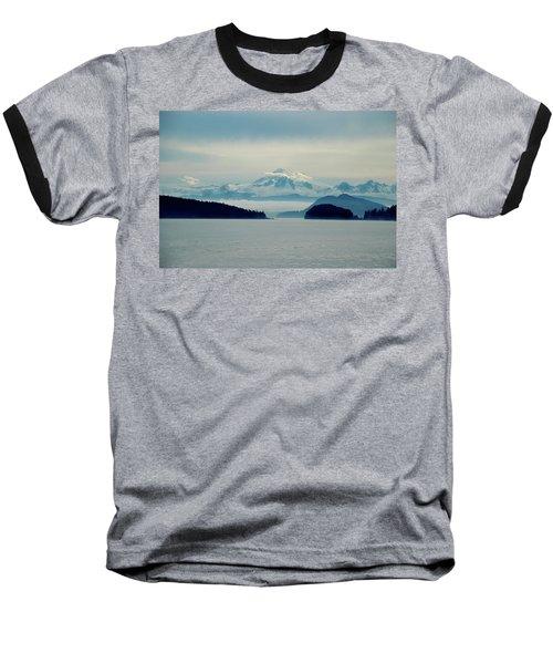 Mt. Baker Washington Baseball T-Shirt