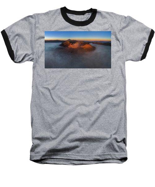 Mt Bromo Sunrise Baseball T-Shirt