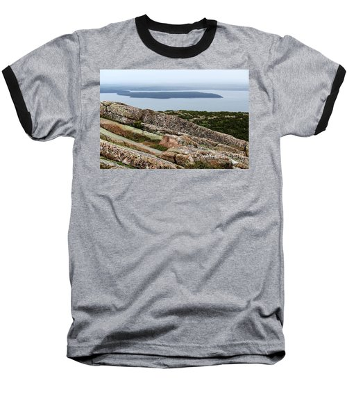 Mt. Destert Island View Baseball T-Shirt
