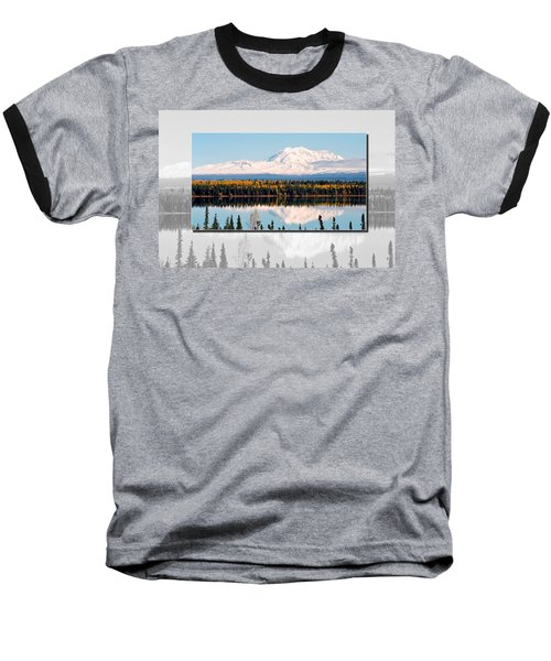 Baseball T-Shirt featuring the photograph Mt. Drum - Alaska by Juergen Weiss