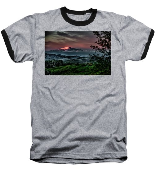 Mt. Etna I Baseball T-Shirt