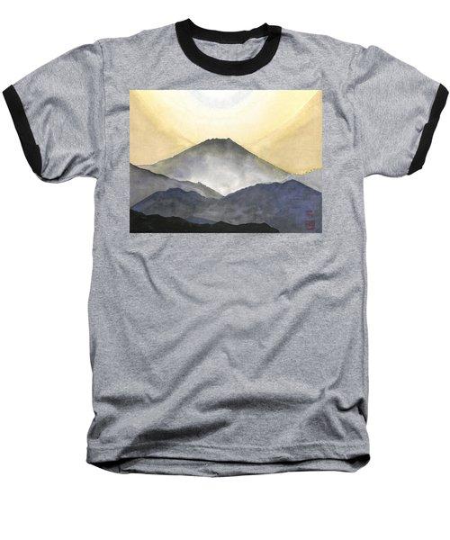 Mt. Fuji At Sunrise Baseball T-Shirt