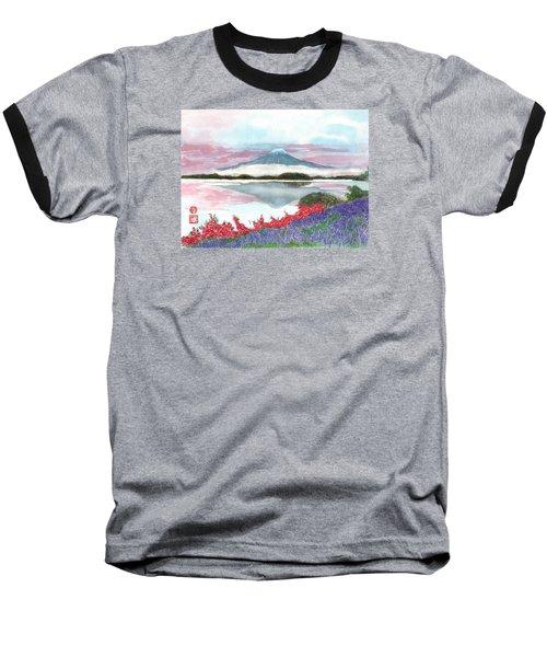 Mt. Fuji Morning Baseball T-Shirt